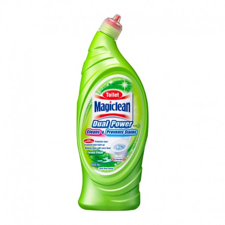 Magiclean Toilet Dual Power Clean + Prevention Forest (650ml)