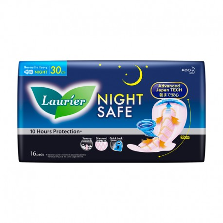 Laurier Nightsafe Wing 30cm (16s)