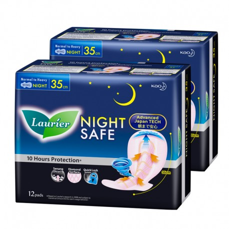 Laurier Night Safe Wing TP 35cm (12s)