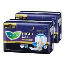 Laurier Nightsafe Wing with Gather Twin Pack 40cm (8s)