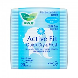 Laurier Pantyliner Active Fit Non Perfume (20s)