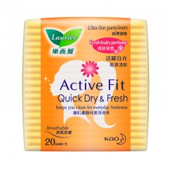 Laurier Pantyliner Active Fit Fresh Fruity Perfume (20s)