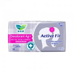 Laurier Pantyliner Active Fit Deodorant AG (36s)