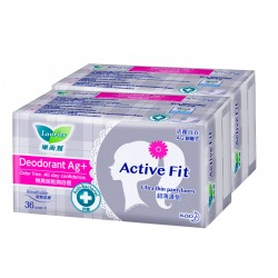 Laurier Active Fit Deodorant Twin Pack (36s)