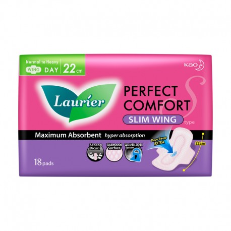 Laurier Ultra Slim Wing 22cm (18s)