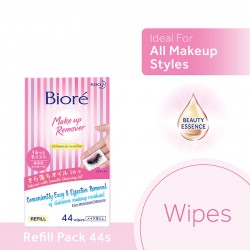 Biore Makeup Remover Wipes Travel Pack (10s) - Moisture
