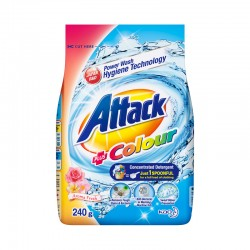 Attack Colour Concentrate Detergent Powder (ATC) (240g)