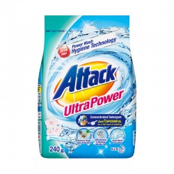 Attack Ultra Power Concentrate Detergent Powder (ATK) (240g)