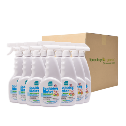 BabyOrganix Naturally Kinder CarSeat Stroller Cleanser (500ml) (12pcs)
