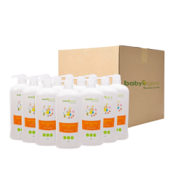 BabyOrganix Feeding Bottle Wash (800ml) (12pcs)