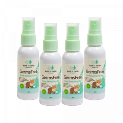 Kath + Belle Germs Free Hand Sanitizing Mist 40ml (4pcs)