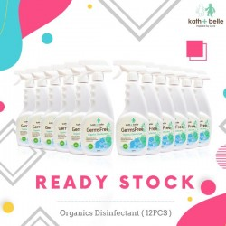 Kath + Belle GermsFree Organics Disinfectant 400ml (12pcs)