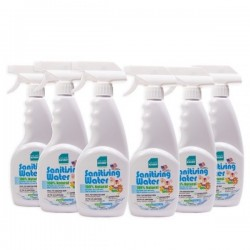 BabyOrganix Naturally Kinder Sanitising Water 400ml (6pcs)