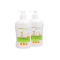 BabyOrganix Kids and Family Top To Toe Cleanser - Peach (Twin Pack) (400ml)