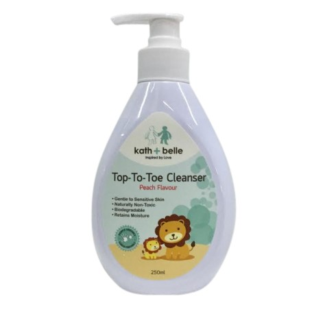 Kath + Belle Top-to-Toe Cleanser