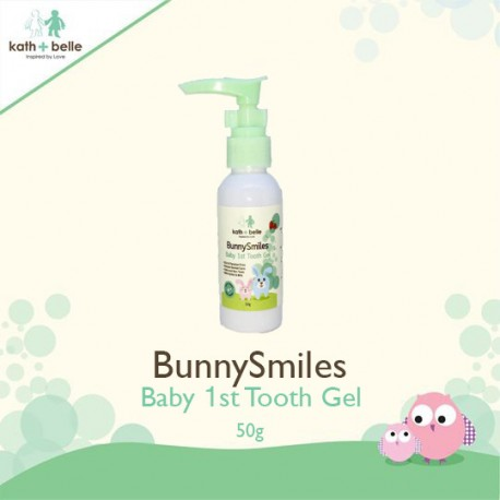 Kath + Belle Bunny Smiles Baby 1st Tooth Gel (Strawberry)