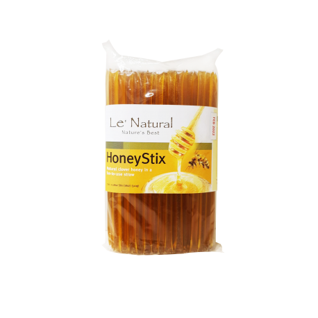 Le Natural Clover HoneyStix 510g (Approx 100 sticks)