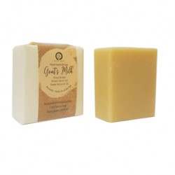 August Moon Hand Made Goatmilk Soap w Shea Butter 100g (Unscented)