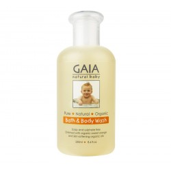 Gaia Natural Bath and Body Wash 250ml