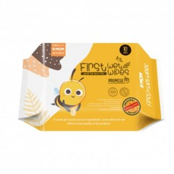 K-Mom Natural Pureness Baby Wet Wipes 10sheets per pack Combo (10sheets x 10packs)
