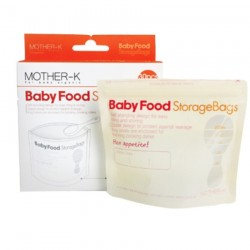 Mother-K Baby Food Storage Bags Disposable (30pcs)