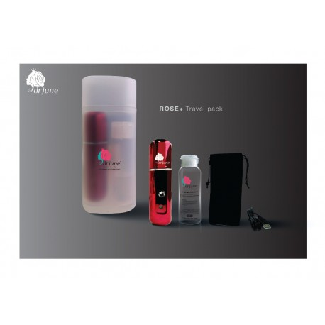 DrJune the Energy of ROSE+ Travel Pack (Included 1 atomizer, 50ml ROSE+ , 1 pouch & 1 charger)