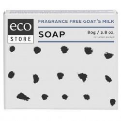Ecostore Goat's Milk Soap Fragrance Free 80g