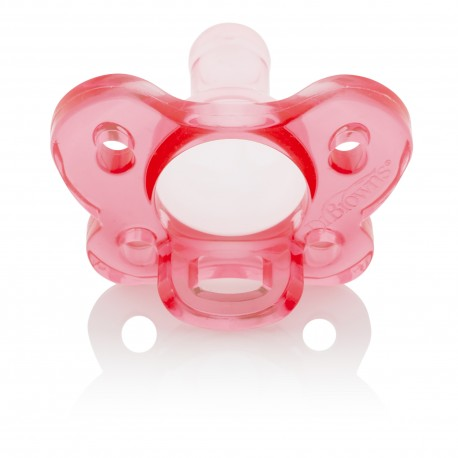Dr Brown's One-Piece Pacifier (Stage 1, 0-6M, 2packs)