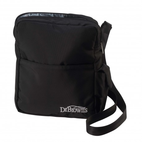 Dr Brown's Insulated Bottle Tote-Black