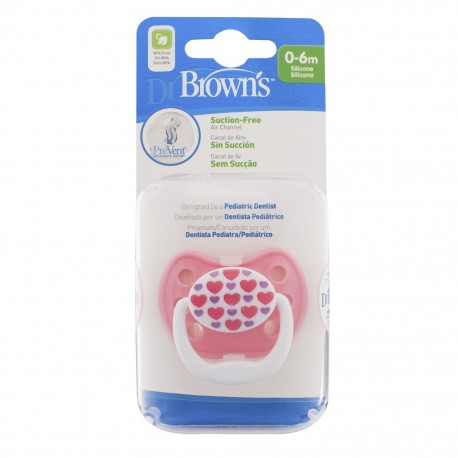 Dr Brown's PreVent Classic Shield Pacifier (Stage 1, 0-6M)