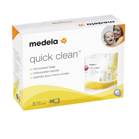 Medela Quick Clean Microwave Steam Bag (5packs)