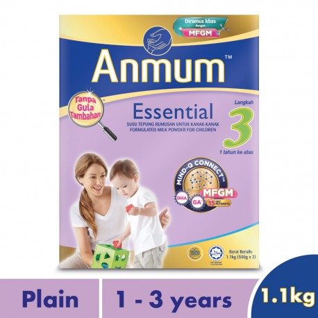 Anmum Essential Step 3 Plain 1.1kg