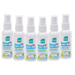 BabyOrganix Naturally Kinder Hand Sanitiser 60ml (6pcs)