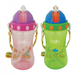 Little Bean 400ml PP Drinking Cup with Belt