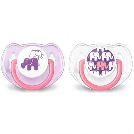 Philips Avent Soother Elephant 6-18M SCF195/30 - Twin Pack (2pcs)