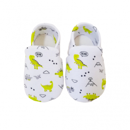 Aikaydan Baby Slip On Shoes (Mini Dino)