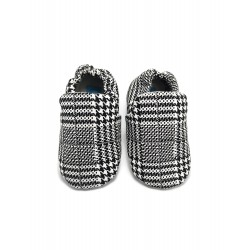 Aikaydan Houndstooth Slip on Shoes