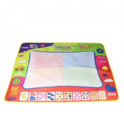 Little B House Water Drawing Painting Writing Magic Pen Doodle Mat Toy Early Learning (80x60cm) - BT36 (L)