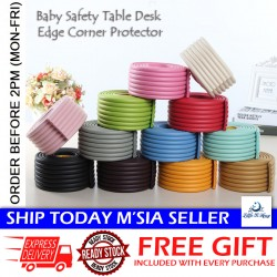 Little B House 2 Meter Safety Bumper Strip Protector Edge Cushion Safety Protection Strip Corners - BKM41