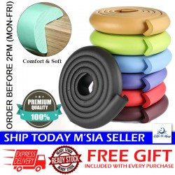 Little B House (2 Meter) Baby Safety Protection Cushion Strip Crash Angle Corner Bumper Sleeve - 024