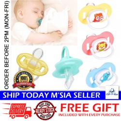 Little B House Newborn Tooth Protect Nipple Baby Cartoon Sleeping Soft Silicone Pacifier - BP02