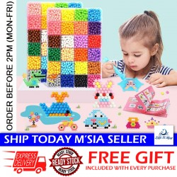 Little B House 50g 36 Color Water Mist Magic Beads 3D Handmade DIY Spray Beads Making Toy - BT267 - Bean