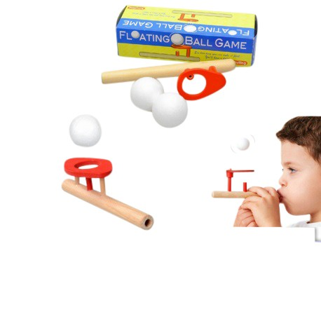 Little B House Floating Ball Game Wooden Toy - BT27