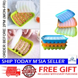 Little B House DIY Hot Dog Mould Sausage Maker Kitchen Handmade Making Box Sausage Mold Baking Tools - KW15