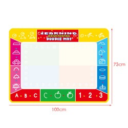Little B House 73x100cm Water Drawing Painting Writing Magic Pen Doodle Mat Toy Early Learning -BT36-XL-A