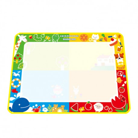 Little B House 73x100cm Water Drawing Painting Writing Magic Pen Doodle Mat Toy Early Learning -BT36-XL-B