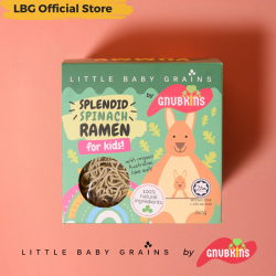 Little Baby Grains Splendid Spinach Ramen for Kids (Bundle of 4)