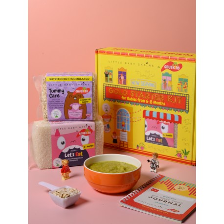 Little Baby Grains GOLD Starter Kit for Babies from 6-8 Months