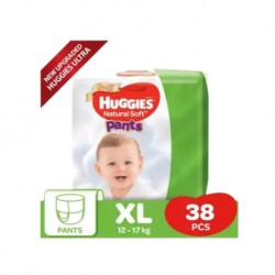 Huggies Ultra Natural Soft Pants (XL38 x 1) Super Jumbo Pack