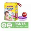 Pet Pet Comfort Pants XL40 x 3 Packs (FOC Food Container)